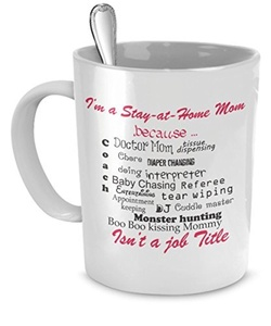 Stay At Home Mom Gifts - I'm a Stay at Home Mom - Stay At Home Mom - Gifts For Stay At Home Moms by SpreadPassion