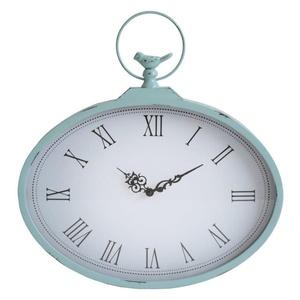 Stratton Home Decor S01856 Shabby Wall Clock