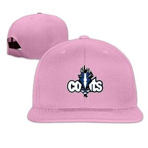 Z-Jane Indianapolis Miscoat Colt Trucker Baseball Hat Hip Hop Hat Adjustable Snapback Flat Bill Pink
