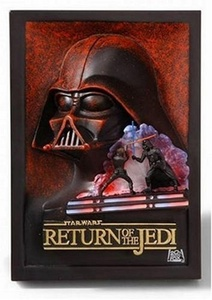 Return of the Jedi Sculpted Poster from Return Of The Jedi by Code 3