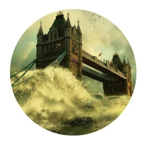 Funny Bridge Of London England Non-Slip Rubber Mousepad Gaming Mouse Pad Mat 7.87