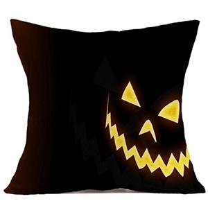 Iuhan® Fashion Halloween Pillow Case Sofa Waist Throw Cushion Cover Home Decor (C)