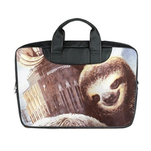 JIUDUIDODO Custom Otter Nylon Waterproof Bag Computer Bag Handbag for Laptop 13