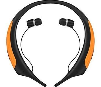 Bluetooth Headset Bluetooth Headphones Telescopic sport outdoor Earphone Headset Earbuds Sports Stereo Bluetooth Wireless Neckbands For LG Samsung iPhone (Orange)