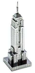 Metallic nanopuzzle Empire State Building TMN-08 by Metallic Nano Puzzle