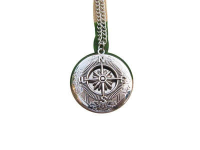 Compass Locket Necklace Travel North West South East Guidance Necklace Best Friends