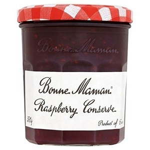 Bonne Maman Raspberry Conserve 370g (Pack of 4)