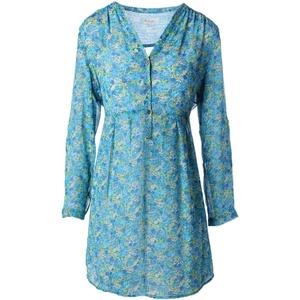 Two by Vince Camuto Womens Blue Wonder Chiffon 2PC Shirtdress Blue M