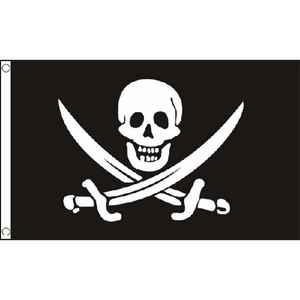 Jack Rackham Small Flag 3Ft X 2Ft Pirate Halloween Banner With 2 Eyelets New by Jack Rackham