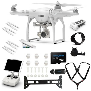 DJI Phantom 3 Advanced Quadcopter Drone with 2.7K HD Video Camera + (1) DJI Phantom 3 Intelligent Flight Battery + Expo-Advanced Accessory Bundle