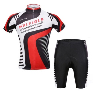 Men Cycling Jersey Short Sleeve Jersey Comfortable Breathable Shirts Tops, 3D Cushion Padded Shorts Tights Pants Sportswear Set Breathable Quick Dry