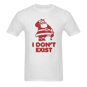 I Don't Exist Funny Saying Short Sleeve T-Shirt Tee for Men