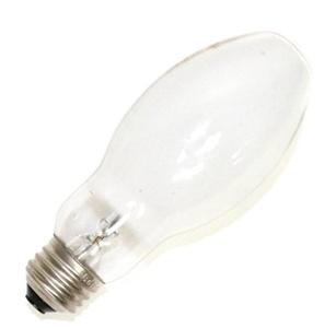 Sylvania H38AV-100/DX 100 watt Mercury Vapor HID Light Bulb 130 volt - ED17 - Medium Screw (E26) Base - 4,000K - Coated - Brite White Deluxe