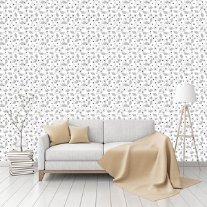 Birds Eyes Patterned Commercial Textured Wallpaper by CustomWallpaper.com