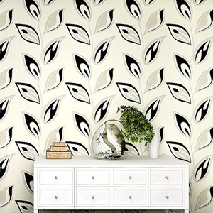 XH@G DIY wallpaper wallpaper nonwoven wallpaper background wallpaper living room TV 1000cm*53cm , 3