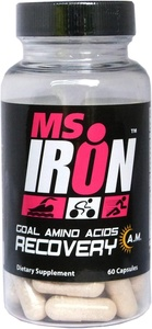 Ms IRON GOAL Amino Acids Recovery A.M. 60 Capsules