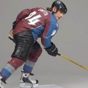 McFarlane Toys NHL Sports Picks Series 19 Action Figure Ryan Smyth 2 (Colorado Avalanche) Blue Jersey by Sports Picks