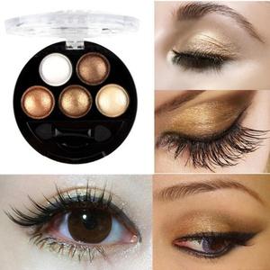 OVERMAL 6PC Professional Eyes Makeup Pigment Eyeshadow