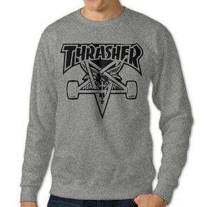Men Thrasher Skateboard Pullover Hoodies Sweatshirts