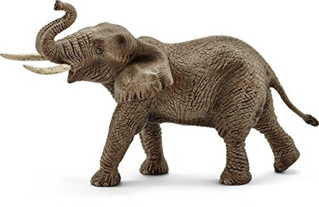Wild Life Schleich African Male Elephant Toy by Wildlife