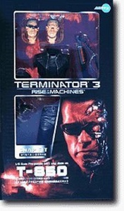 Terminator 3 Rise Of The Machines SNAP FIT T-850 1/6 Scale Pre-Painted Soft Vinyl Model Kit by Terminator 3