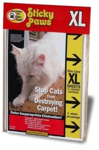 (5 strips) X-Large Sticky Paws (9
