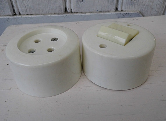 Keramik Light Switch Set with Outlet Electric Switch