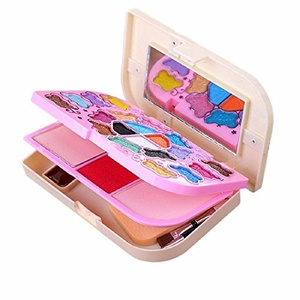 Orangeskycn 20 Color Makeup Eyeshadow+2 Color Powder+2 Color Blush+4 Color Lipstick Set (A)