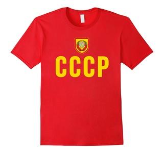 CCCP T-Shirt Russia Soviet Union Hammer Sickle Russian USSR