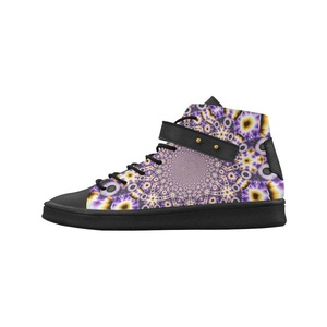 Shoes No.1 Women's Sneakers Lyra Round Toe High-top Shoes Wing Span For Outdoor