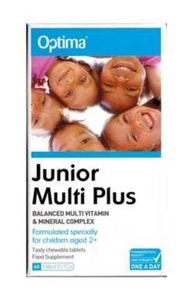 Optima Health Junior Multi Plus 60 Tablets by Optima Health