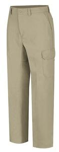 VF Corporation - WP80KH 50 34 - Men's Work Pants, Cotton/Polyester, Color: Khaki, Fits Waist Size: 50 x 34
