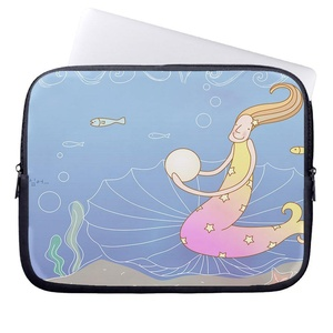Eratio Mermaids Neoprene Protective Laptop Sleeve 12 Inch Macbook Air Case Macbook Pro Sleeve and 12 Inch Laptop Bag Cover