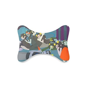 homestuck Custom Car-Seat Neck Pillow Travel Pillow Neck Rest Cushion (Only One)