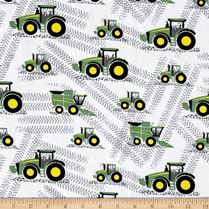 John Deere Little Farm Multi Fabric By The Yard