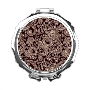 GoingOn Paisley Design Personalised Mirrors Boteh Makeup Vanity With Mirror