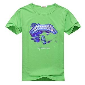 Metallica Ride Lightning for Men Printed Short Sleeve Tee T-shirt