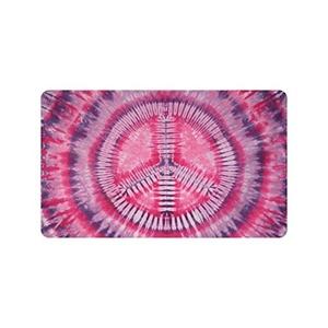Colorful Tie Dye Custom Doormat Entrance Mat Floor Mat Rug Indoor/Outdoor/Front Door/Bathroom Mats Rubber Non Slip Size 30 x 18 inches