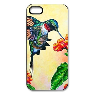 Case for iPhone SE,Case Cover for iPhone 5,Case for iPhone 5S,Cover Case Protector for iPhone 5/ 5S/ SE,iPhone Accessories Hummingbird Protective Case Cover Suit for iPhone 5 5S SE