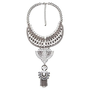 ARICO Statement Necklaces Pendants boho Trendy Collar Collier Femme Choker Collar Multi Layer Necklaces Gipsy turkish jewelry