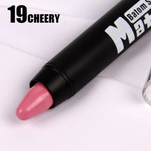 HUBEE Makeup Lip Batom Stick Pencil Cosmetic Matte Long Lasting Effect Powdery Soft Lipstick Pencil