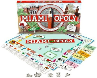Miami University - MIAMIOPOLY by Flat River Group