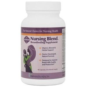 Fairhaven Health, Milkies, Nursing Blend Breastfeeding Supplement, 90 Veggie Caps