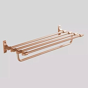 champagne gold bathroom accessories/Bathroom hardware accessories/Towel rack Towel rack-Kit-D