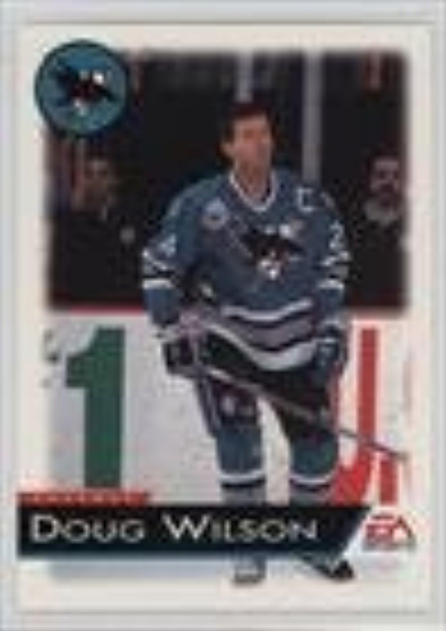 Doug Wilson (Hockey Card) 1994 EA Sports NHL '94 - Mail-In [Base] #115