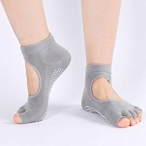 LayOPO(TM) 5 Pairs Yoga Socks,Non Slip Skid Barre Sock with Grips for Women & Men