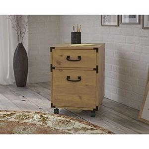 kathy ireland Office by Bush Furniture Ironworks 2-drawer Mobile Pedestal KI50102-03