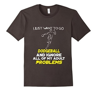 I Just Want To Go DODGEBALL And Ignore All T-Shirt