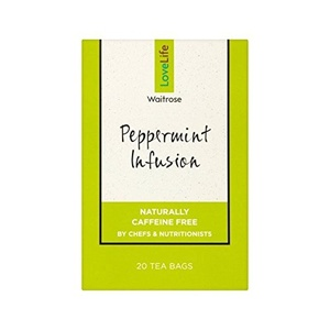 Peppermint Infusion Waitrose Love Life 40g - Pack of 2