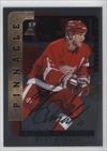 Mathieu Dandenault (Hockey Card) 1996-97 Pinnacle Be A Player - [Base] - Silver Autograph [Autographed] #95